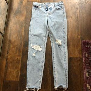 Levi's wedgie Jean size 24